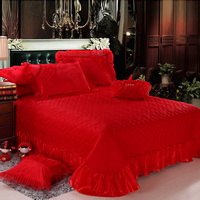 Amazing Gift Closer Hearts Red Bedding Set Princess Bedding Girls Bedding Wedding Bedding Luxury Bedding