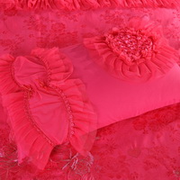 Amazing Gift Romantic Wedding Rose Bedding Set Princess Bedding Girls Bedding Wedding Bedding Luxury Bedding