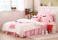 Cute Kitty White Princess Bedding Girls Bedding Women Bedding