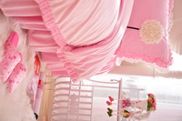 Dandelion Pink Princess Bedding Girls Bedding Women Bedding