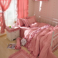 Fairy Pink Princess Bedding Girls Bedding Women Bedding