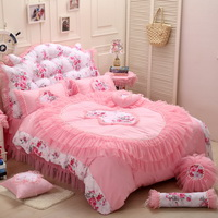 Flowers In The Mirror Pink Princess Bedding Girls Bedding Women Bedding