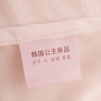 Pink White And Camel Princess Bedding Girls Bedding Women Bedding