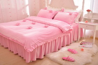 Rose Pink Princess Bedding Girls Bedding Women Bedding