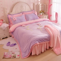 What A Woman Purple And Pink Princess Bedding Girls Bedding Women Bedding