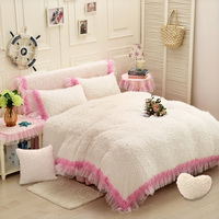 Winter Lovers White Princess Bedding Girls Bedding Women Bedding