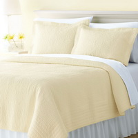 Beige 3 Pieces Quilt Sets