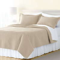 Khaki 3 Pieces Quilt Sets