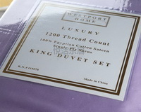 1200 Thread Count Egyptian Cotton Sateen Luxury Sheet Set