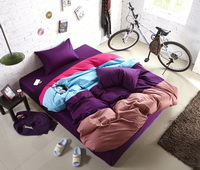 Full House Purple Modern Bedding Teen Bedding