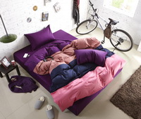 Rainbow Romance Purple Modern Bedding Teen Bedding