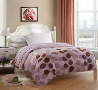 Small Circles Light Purple Teen Bedding Duvet Cover Set