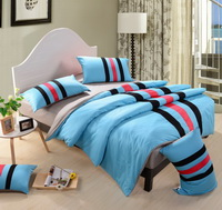 Sky Blue And Gray Teen Bedding Sports Bedding