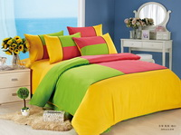 Yellow Green And Red Teen Bedding Kids Bedding