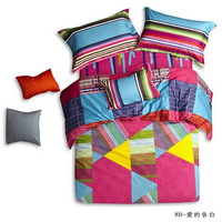 Triangles Rose Teen Bedding Modern Bedding