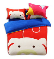 The Pig Baby Red Cartoon Animals Bedding Kids Bedding Teen Bedding
