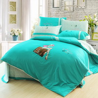 Fragrant Journey Lake Blue Bedding Teen Bedding Modern Bedding Girls Bedding