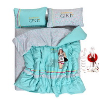 Liberal Aqua Blue Bedding Teen Bedding Modern Bedding Girls Bedding