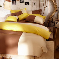 Cappuccino Brown Bedding Set Teen Bedding College Dorm Bedding Duvet Cover Set Gift