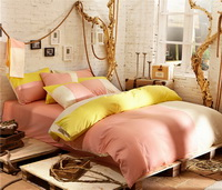 Jeju Love Pink Bedding Set Teen Bedding College Dorm Bedding Duvet Cover Set Gift