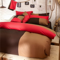 Tiramisu Brown Bedding Set Teen Bedding College Dorm Bedding Duvet Cover Set Gift
