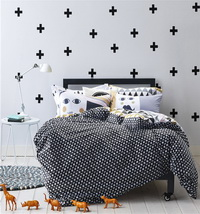Black And White Raider Black Bedding Teen Bedding Kids Bedding Modern Bedding Gift Idea