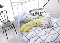 Going Home White Bedding Teen Bedding Kids Bedding Modern Bedding Gift Idea