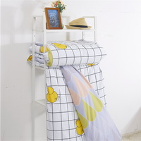 Little Yellow Duck White Bedding Teen Bedding Kids Bedding Modern Bedding Gift Idea