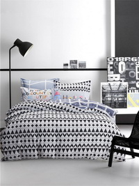 Rumble Black Bedding Teen Bedding Kids Bedding Modern Bedding Gift Idea