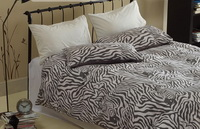 Black And White Zebra Print Bedding Sets